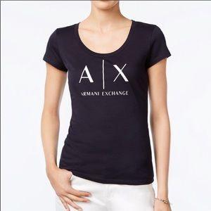 🌟NWOT🌟 A|X Armani Exchange logo tee Sz. M